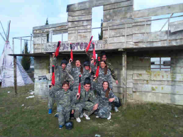 paintball junior bilbao