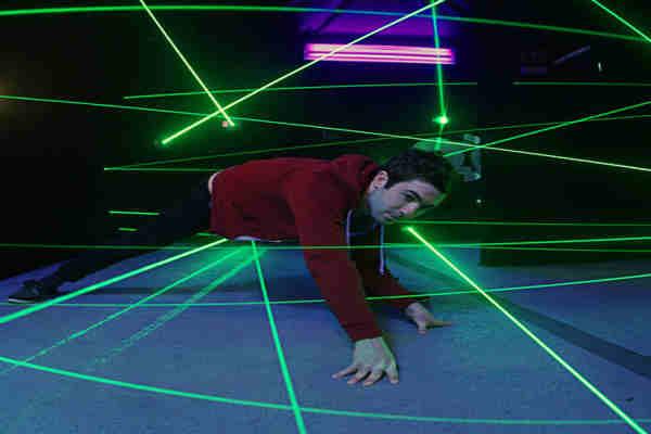 laberinto laser bilbao